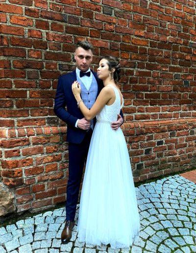 Kazzo garnitur ślubny